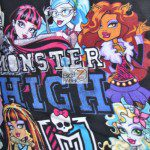 Monster High Anti-pill Polar Fleece Fabric We Are Monsters