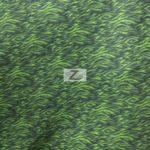 Zebra Anti-pill Polar Fleece Fabric Lime