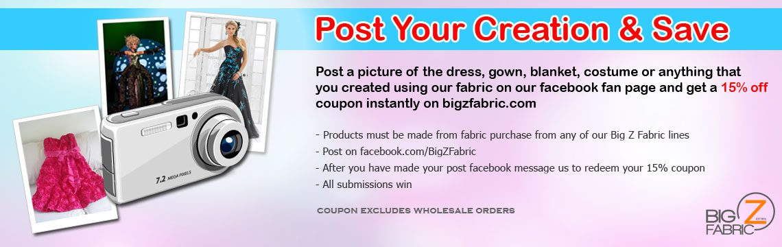Post Your Anti Pill Fleece Fabric Creation & Save