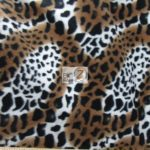 Cheetah Anti-pill Polar Fleece Fabric Hurricane