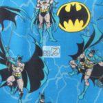 DC Comics Batman Fleece Fabric All Over Toss