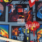 DC Comics Batman Fleece Fabric Batman Comic Strip