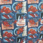 Marvel Comics Anti-pill Fleece Fabric Spider-man Badge
