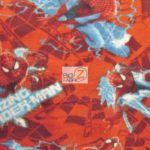 Marvel Comics Anti-pill Fleece Fabric Spider-man Electric