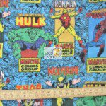 Marvel Comics Poster Fleece Fabric