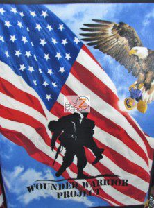 Support Our Troops Wounded Warrior Fleece Fabric