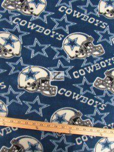 NFL Dallas Cowboys Anti-pill Fleece Fabric