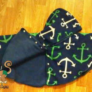 Anchor Fleece Fabric Baby Jacket