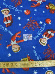 An Elf's Story Fleece Fabric