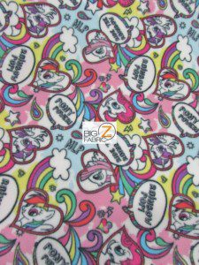 My Little Pony By Springs Creative Fleece Fabric