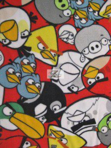 Angry Birds Movie Fleece Fabric