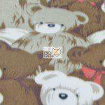 Bear Anti-pill Fleece Fabric Pack