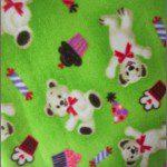 Bear Anti-pill Fleece Fabric Party