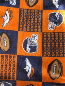Denver Broncos Fleece Fabric