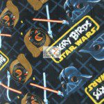 Star Wars Clash Angry Birds Fleece Fabric