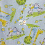 Baby Fleece Fabric Giraffe