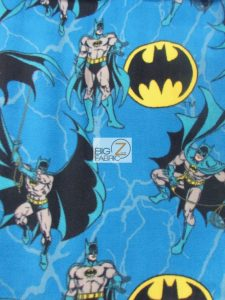 Batman DC Comics Movie Fleece Fabric