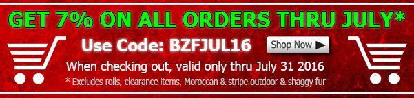 Big Z Fabric July Fleece Discount