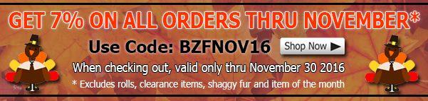 November Winter Fleece Fabric Discount