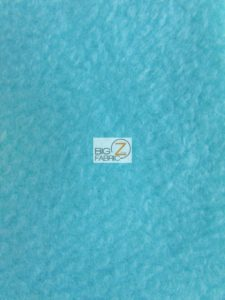 Anti-pill Fleece Fabric Baby Blue