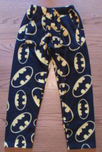 Batman Emblem Fleece Pajama Pants