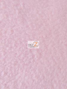 Solid Anti-pill Fleece Fabric Light Pink