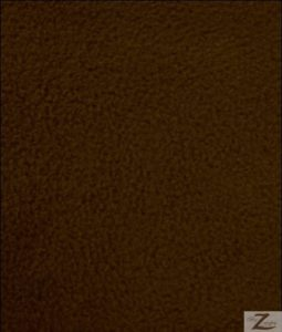 Brown Anti-pill Fleece Fabric