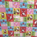 Hello Kitty Anti-pill Fleece Fabric Patch