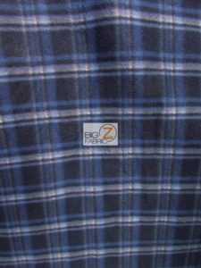 Scott Checkered Color #3 Anti-pill Fleece Fabric