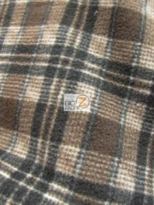 Scott Checkered Color #7 Anti-pill Fleece Fabric