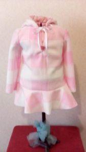 Infant Plaid Fleece Dress