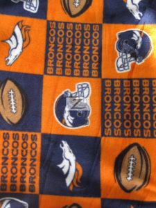 Denver Broncos NFL Fleece Fabric