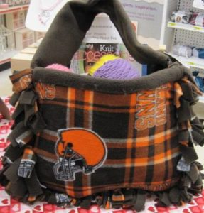 NFL Fleece Tote Bag