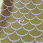 Nouveau Scales Anti-pill Polar Fleece Fabric By David Textiles Khaki