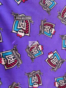Monster High Anti-pill Polar Fleece Fabric By David Textiles