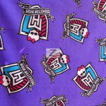 Monster High Anti-pill Polar Fleece Fabric By David Textiles Purple
