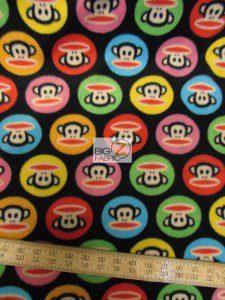 Monkey Anti-pill Polar Fleece Fabric By David Textiles