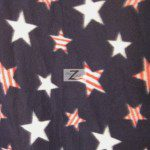 American USA Anti-pill Polar Fleece Fabric American Stars