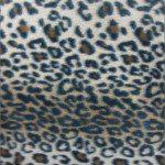 Leopard Anti Pill Fleece Fabric Brown Snow