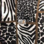 Cheetah Anti-pill Polar Fleece Fabric Collage