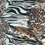 Cheetah Anti-pill Polar Fleece Fabric Kingdom