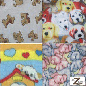 Dog Polar Fleece Fabric
