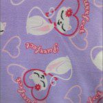 Cat Anti Pill Fleece Fabric Purrfect