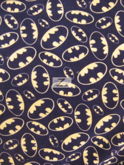 DC Comics Batman Fleece Fabric Bat Signal