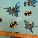 DC Comics Batman Fleece Fabric Super Friend