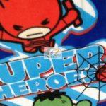Marvel Comics Anti-pill Fleece Fabric Baby Avengers