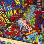 Marvel Comics Fury Cover Art Fleece Fabric