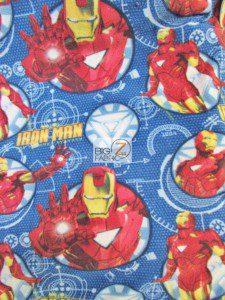 Marvel Comics Iron Man Fleece Fabric