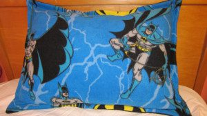 Batman Fleece Decorative Pillow
