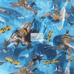 Batman Forever DC Comics Dark Knight Fleece Fabric